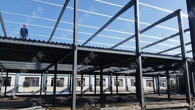 加层钢结构--龙派纸业
