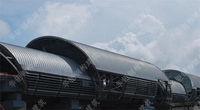 高铁站铝镁锰屋面工程