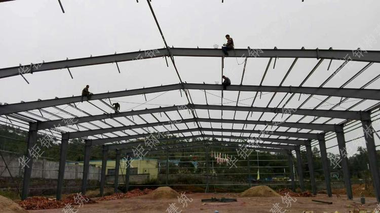 钢结构厂房--连平盟裕电子有限公司