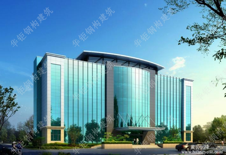 行政办公楼玻璃幕墙