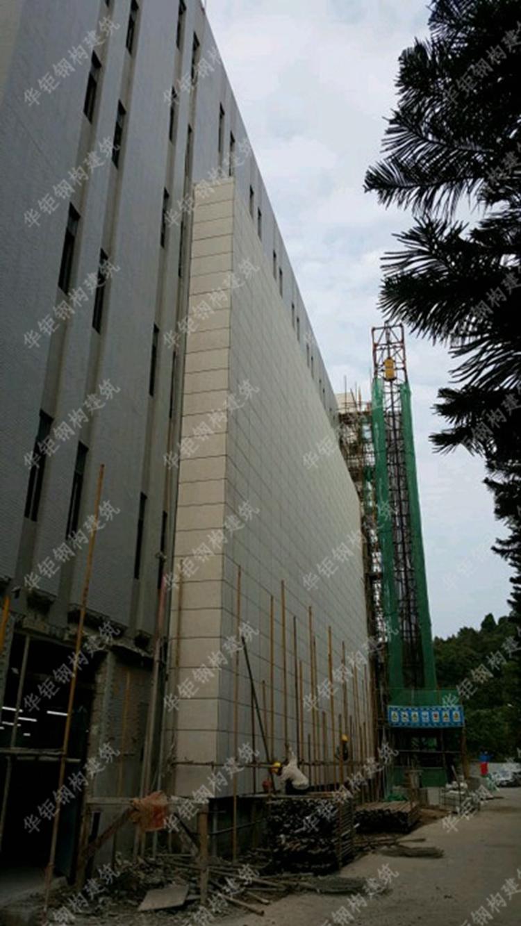 广州计量院科学城检测基地二期石材幕墙工程