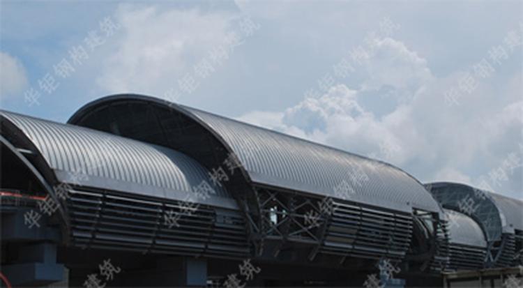高铁站铝镁锰金属屋面工程