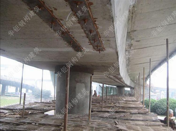 桥梁加固--粘钢加固